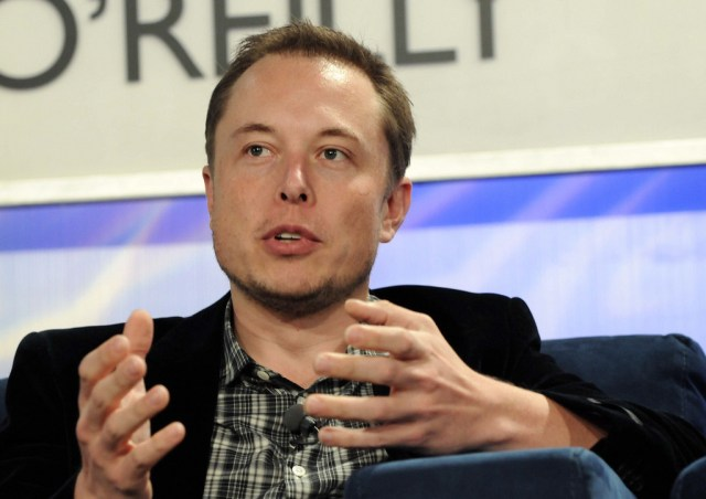 Elon Musk Talks Tesla Motors