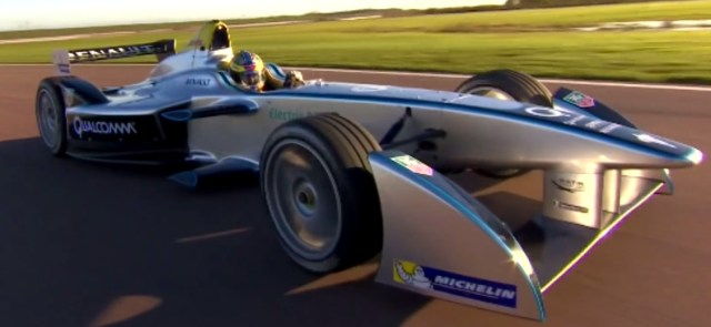 Electric Vehicle Racer, Sounds Like the Future