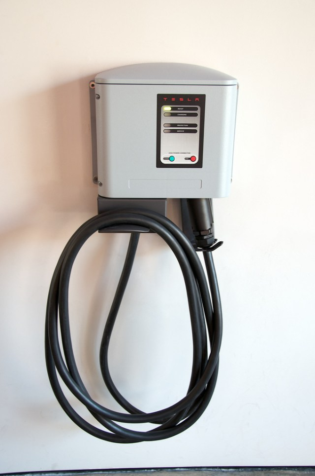 Tesla Motors' Software Update Addresses What's BEHIND This Charging Station