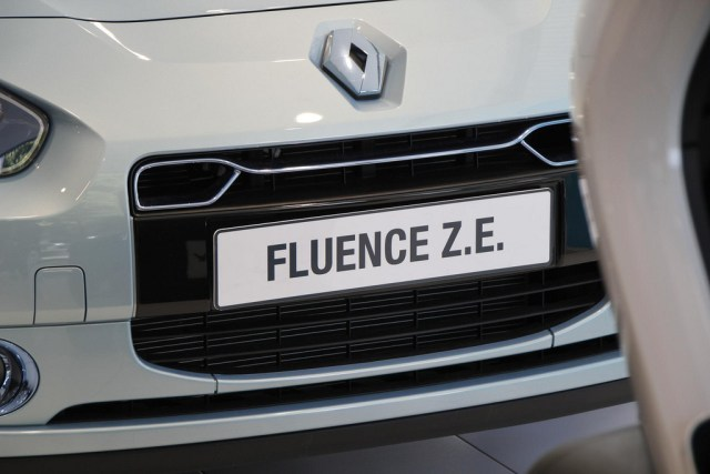 Electric Vehicle Renault Fluence ZE