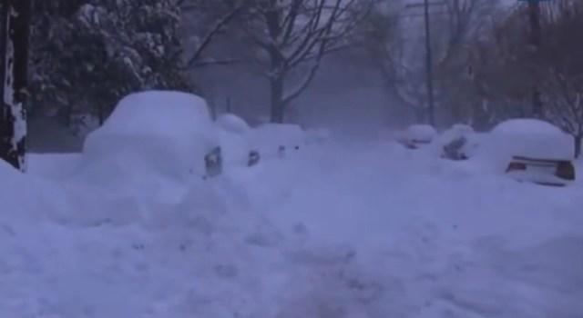 Can Global Warming Explain Atlanta Snow?