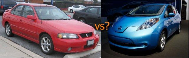 Nissan Leaf vs Nissan Sentra, Wallet Referees