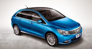 BYD Daimler New Technology - DENZA Electric Vehicle Unveiled at Auto China 2014