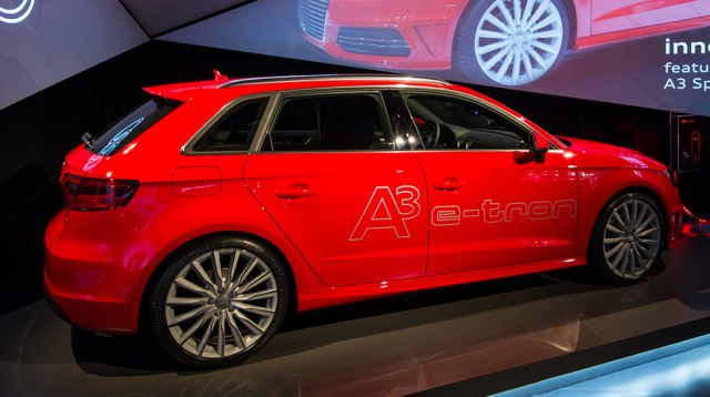Just Like the Real Thing, Only Smaller (No Audi A6 E-tron for US)