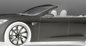 Tesla Model S Convertible, by Newport Convertible Engineering