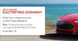 eBay Motors Garage Tesla Model S Giveaway, Just Ten Days Left to Enter
