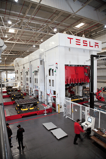Tesla Motors keeps right on expanding.
