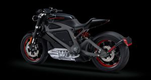 Harley-Davidson Livewire Concept Electric Motorcycle