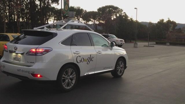 "Google Autonomous Vehicle Testing, California Says ""No Sleeping"""
