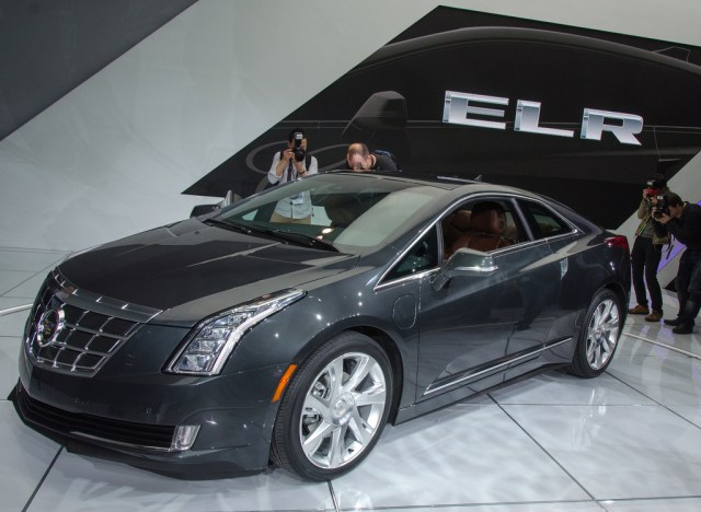 2014 Cadillac ELR with Complementary Home Charging Station in Canada