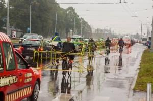 Biking advocates in Latvia