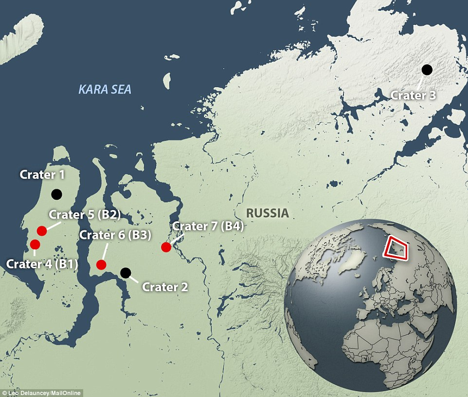 Big Hole in Russia Appearing Due to Climate Change - The Green ... Kara Russia Map on nasa russia, oceans and seas that surround russia, bulgaria russia, sakhalin island russia, sea that borders northwestern russia, toxic waste dumps sochi russia, exxonmobil russia, it and the oceans that border russia, kfc russia,