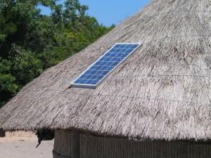 solar-panel-on-thatch-hut
