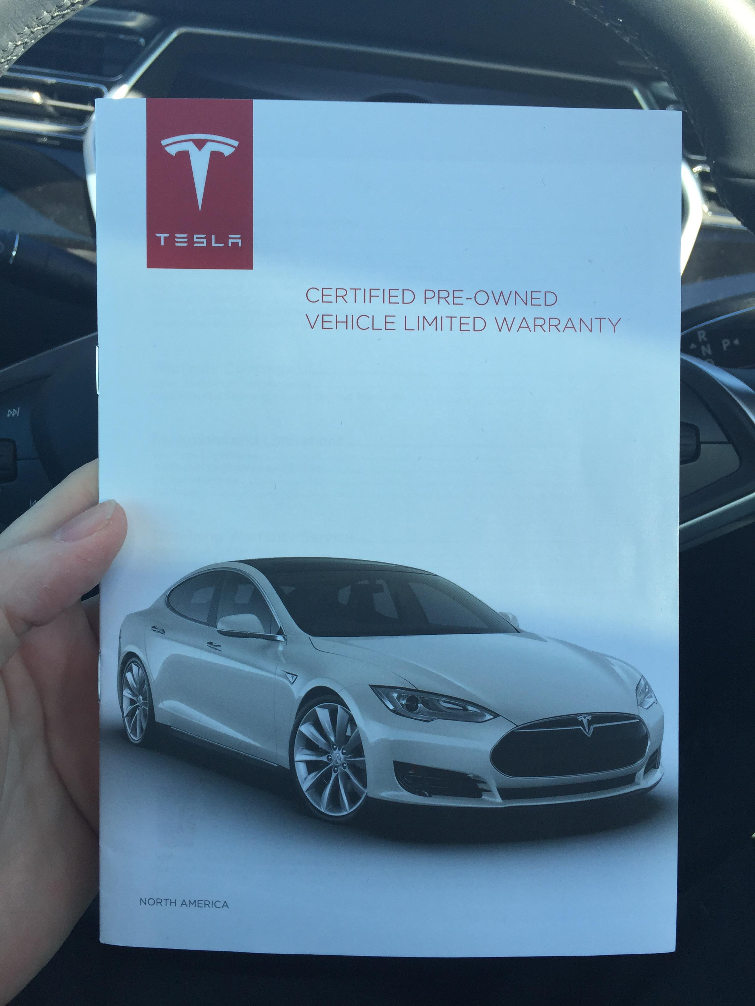 Pre Owned Tesla >> Tesla Model S Now Has A Certified Pre Owned Program The Green