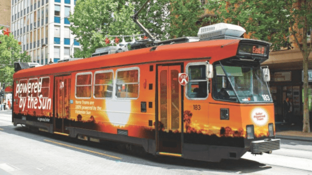 Artist's-impression-of-Melbourne-solar-powered-tram