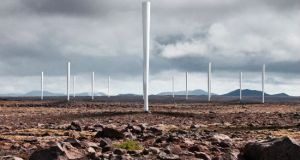 Bladeless wind turbines