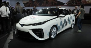 The connected version of the Toyota Mirai FCV