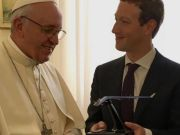 Solar Powered Drone Presented to Pope By Facebook CEO