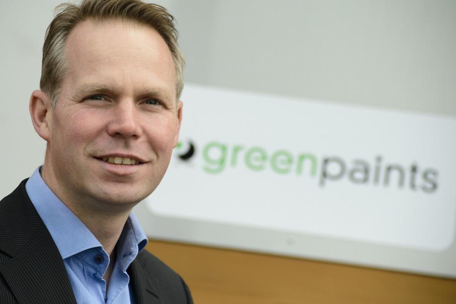 Greenpaints interview Eisma's Schildersblad 11-2015