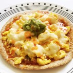 Skinny Breakfast Pizza
