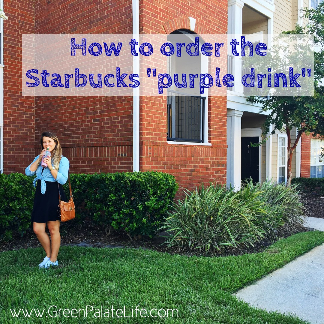 how to order the starbucks purple drink