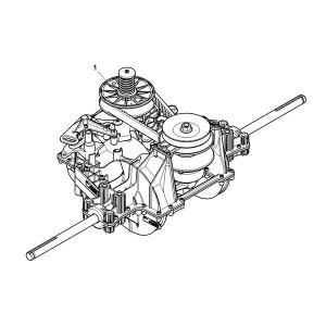 John Deere Complete Transmission Assembly  MIA13114