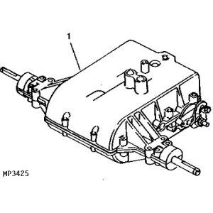 John Deere Complete Transaxle MIA10320