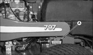 John Deere Model 797 Zero Turn Mower Parts