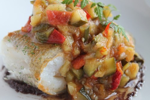 sustainably fished cod