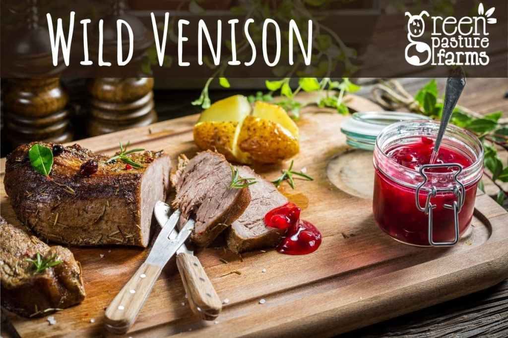 Why choose to eat wild venison?