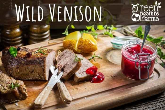 Wild Venison Selection Box
