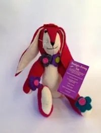 himalayan journey felt zippy plum rabbit