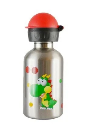 Cheeki water bottle dinosaur