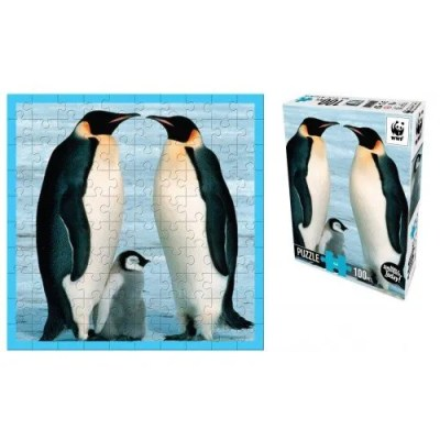 WWF's 100 piece penguins puzzle