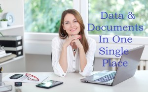 Data and documents on one place