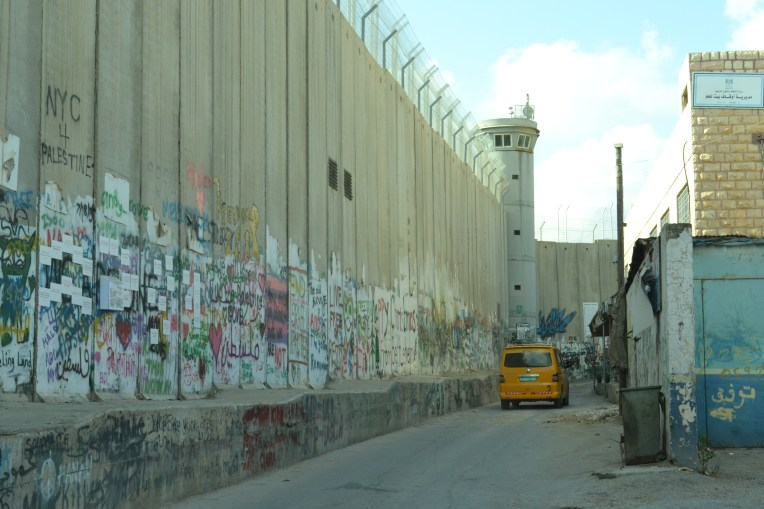 Israel's Wall, Beit Jala, occupied Palestine (David Kattenburg)