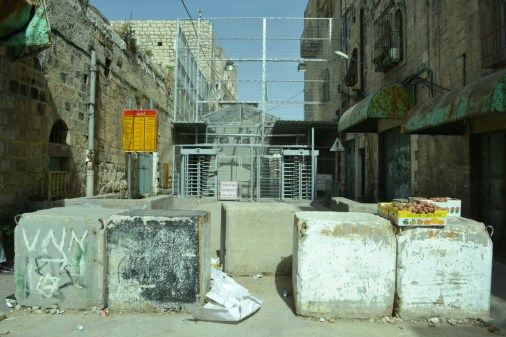 Checkpoint 56, occupied Hebron