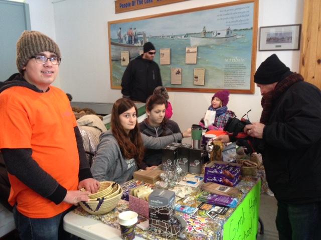 Social Justice Group, Gimli High School, Gimli, Manitoba (Rob Jantz)