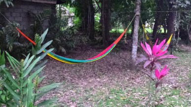 Lying in hammocks is a revered tourist activity in Belize