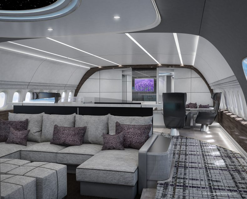 Greenpoint Designs V Vip Interior Concept For Boeing