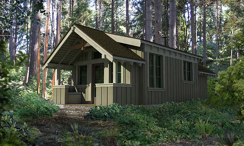 Port Townsend – Small Home Plans | GreenPod Products