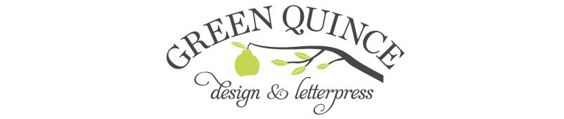 Green Quince Design and Letterpress