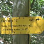 Sentiero 1 - Partenza Sentiero 17