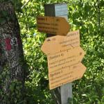 Sentiero 4 - Case il Sasso Crocevia di Sentieri