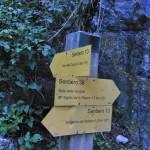 Sentiero 238 -Vecchio incrocio per l'Orto della Cicuta