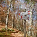 Pollino trek - Segnaletica a Colle Impiso