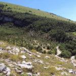 La strada di Serravalle di Carda