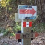 Sentiero 293 - Poco prima de Il Gengone