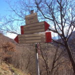 Sentiero 279 - Incrocio sentiero 232 ai Sassi Bianchi