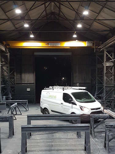 commercial electricians swansea